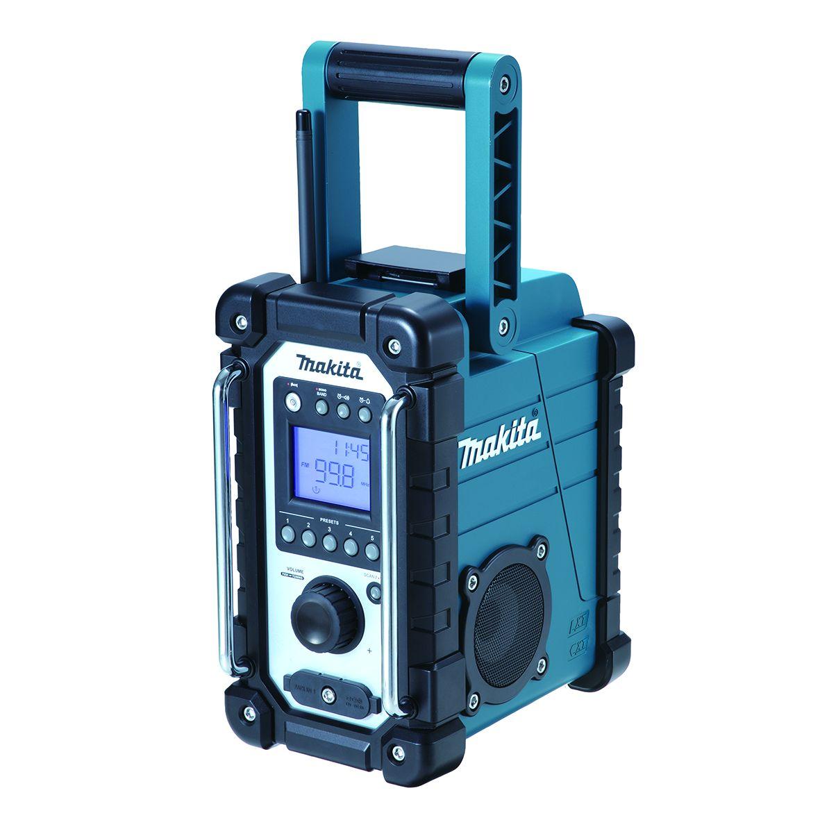 Makita DMR107 Aku rádio, Li-ion 7,2V-18V