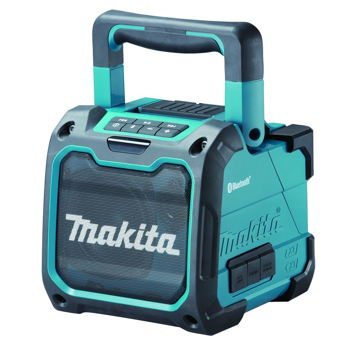 Makita DMR200 Aku přehrávač s Bluetooth, Li-ion CXT 10,8/12V,LXT14,4/18V
