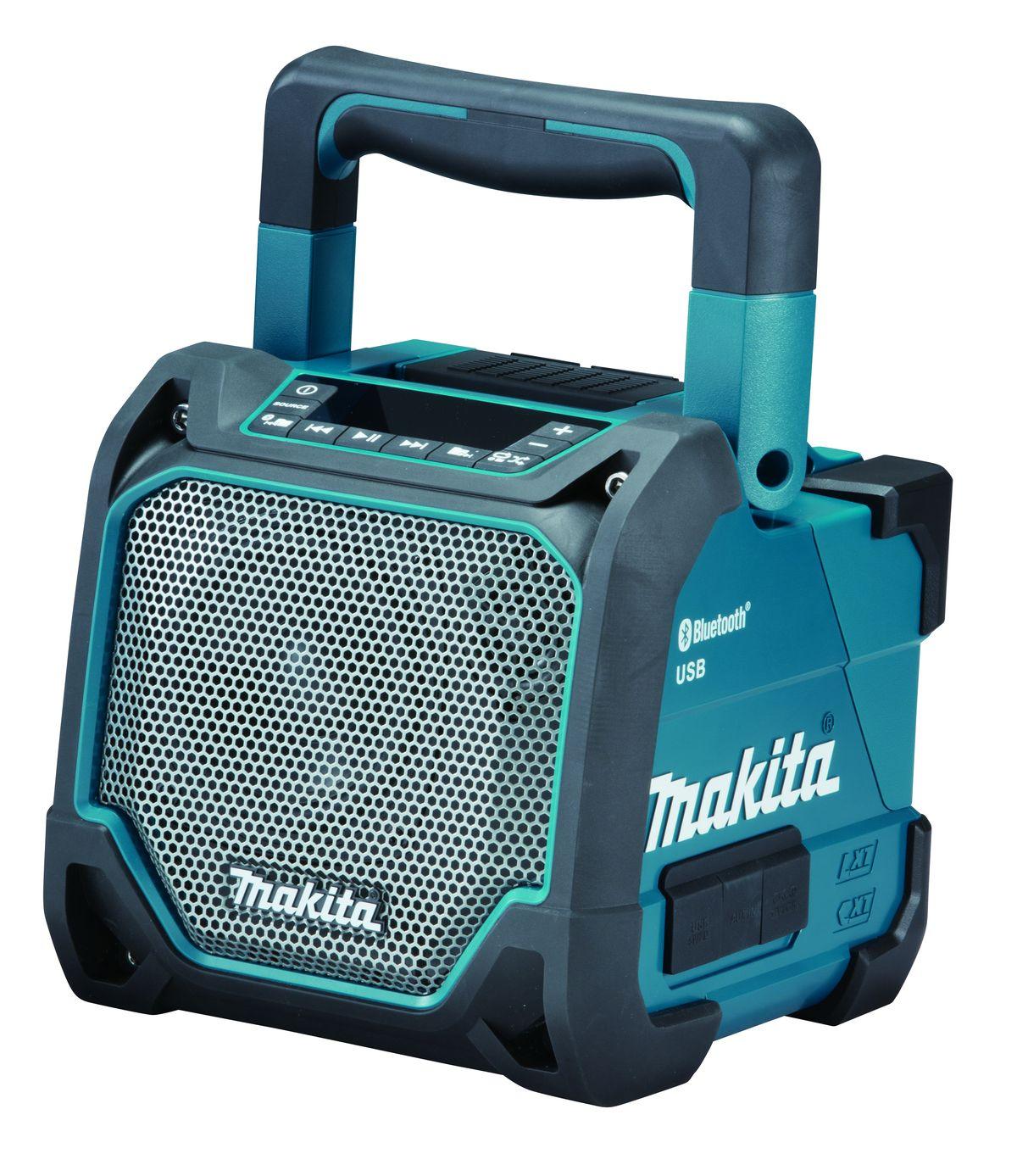 Makita DMR202 Aku přehrávač s USB a Bluetooth, Li-ion CXT 10,8/12V,LXT14,4/18V