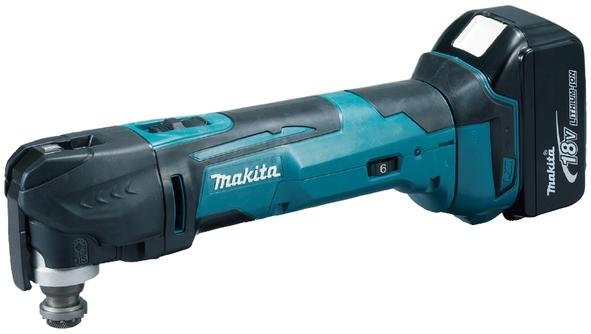Makita DTM51RFJX1 Aku MultiTool s příslušenstvím Li-ion LXT 18V/3,0Ah