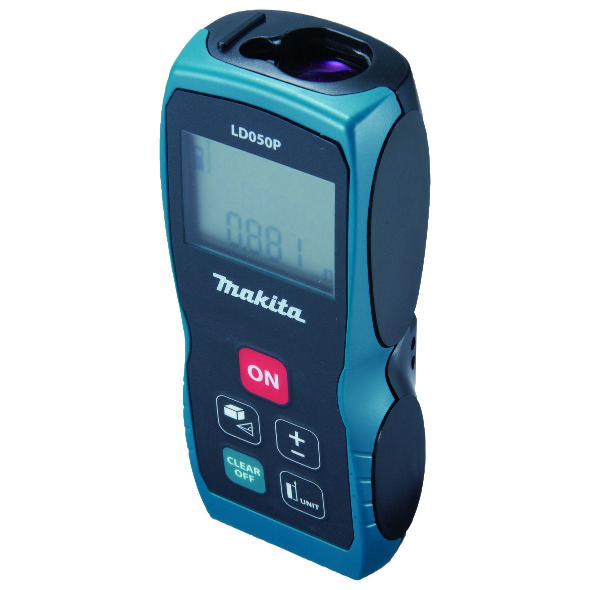 Makita LD050P Laserový měřič vzdálenosti 0-50m (aku článek AAA)
