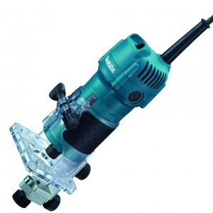 Makita 3709 Jednoruční frézka 6mm,530W