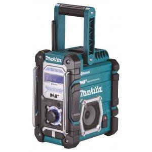 Makita DMR112 Aku rádio DAB s Bluetooth, Li-ion 7,2V-18V Z